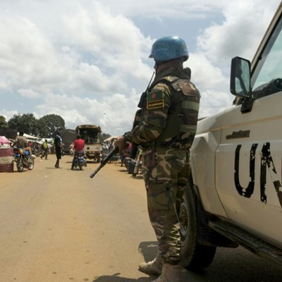 Peacekeepers deploy in Central Africa as UN chief calls for calm