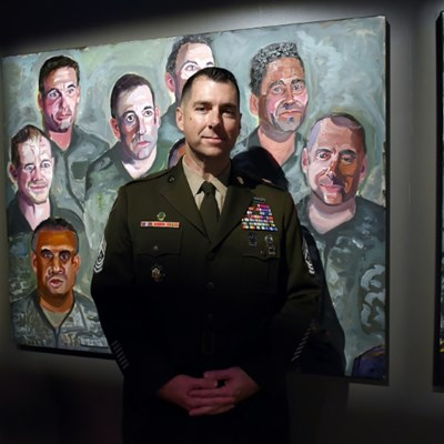 Ex-president Bush's paintings tell of toll on those he sent to war