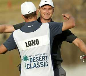 Unheralded Long holds off Mickelson, Hadwin for Desert Classic win