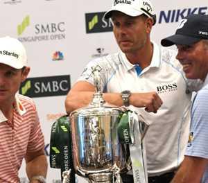 Rio medallists in Singapore golf showdown before Olympics