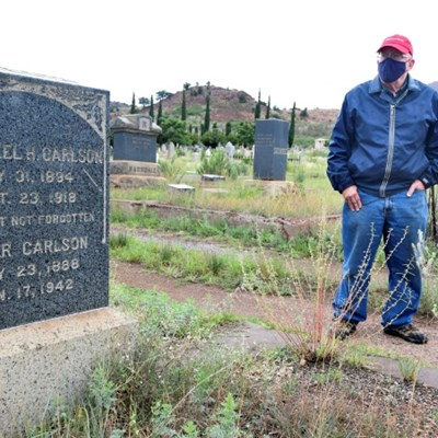 Spectre of the Spanish Flu haunts old US mining town