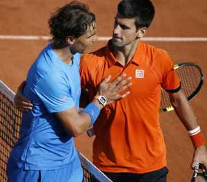 Chapter 58 for Djokovic, Nadal at French Open