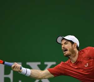 Animated Murray recovers from slow start to win Shanghai opener