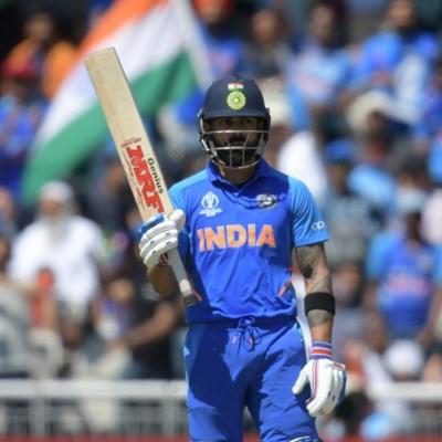 Kohli helps India set West Indies challenging total