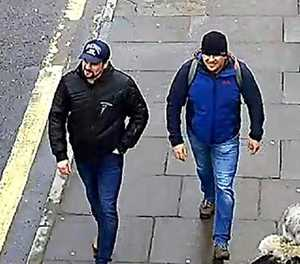 Russian suspects' claims over spy attack spark mockery in UK