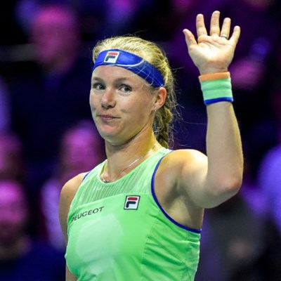 Bertens doubles up in Saint Petersburg for 10th WTA title