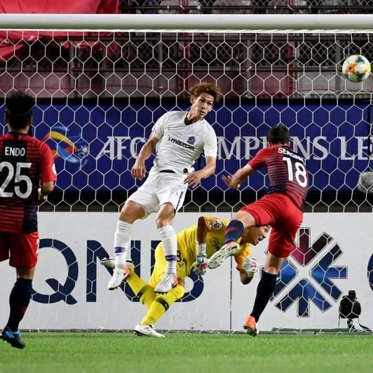 Serginho edges holders Kashima to slim AFC first leg lead