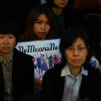 'Protecting rapists': Protesters accuse Japan of failing women