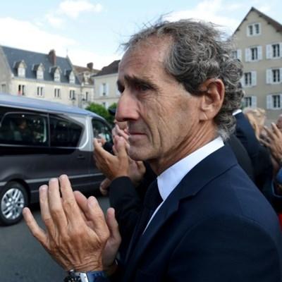 Motor racing remembers Hubert at funeral in Chartres