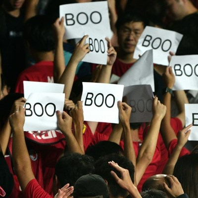FIFA fines Hong Kong after fans whistle Chinese anthem