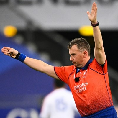 Referee Owens bows out at 100 internationals