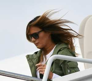 Much Ado About Melania: US first lady does it her way