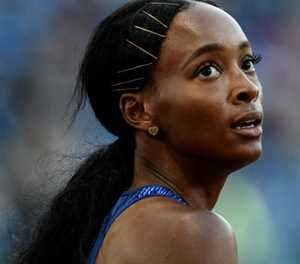 Muhammad smashes women's 400m hurdles world record