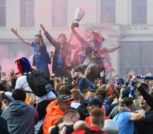 Rangers say fan violence 'besmirched' club's reputation