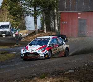 Toyota's Evans extends lead over Tanak in Sweden