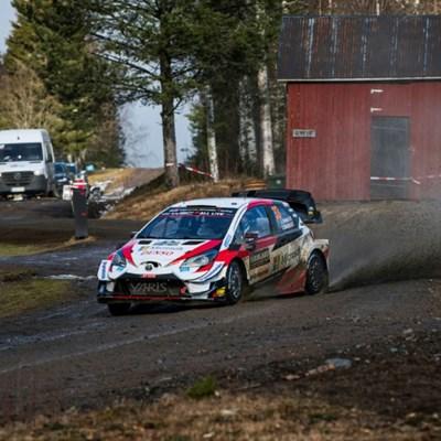 Toyota's Evans extends lead over Tanak in Sweden