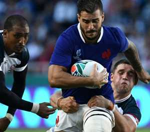 France survive scare to beat USA 33-9 at Rugby World Cup