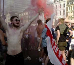 World Cup fever soars in England on #WaistcoatWednesday