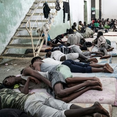 Starved, tortured, bombed: the fate of refugees trapped in Libya