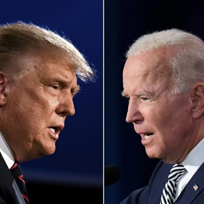 Biden, Trump duel in Florida as White House touts GDP figures