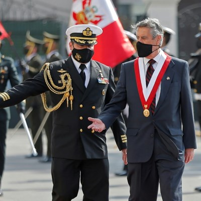 Francisco Sagasti sworn in as Peru president