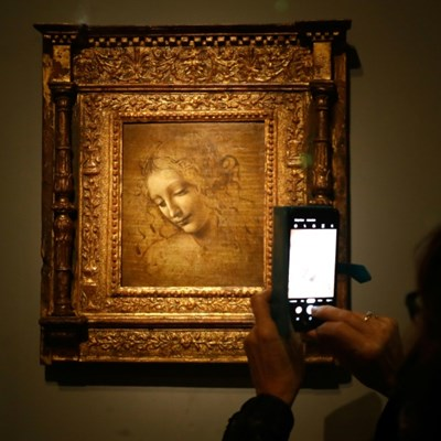 Louvre blockbuster spotlights Leonardo da Vinci 500 years on