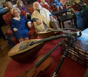 Retired musicians enjoy 'grand finale' at Verdi home