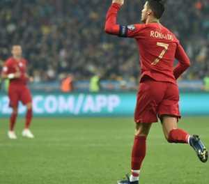 Ukraine qualify for Euro 2020 despite Ronaldo's 700th goal
