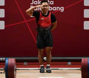 Presidential salute as Irawan lifts gold for Indonesia