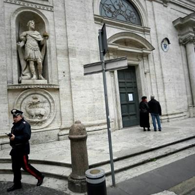 Catholic churches across Rome shut due to virus