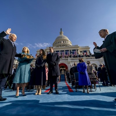 Asia sees in Biden presidency with healthy gains