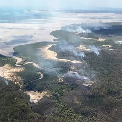 Storms help Australia contain UNESCO heritage island fire