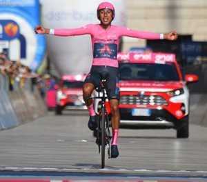 Brilliant Bernal wins 2021 Giro d'Italia