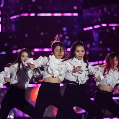 Dancing in the streets: performers gather for K-pop festival