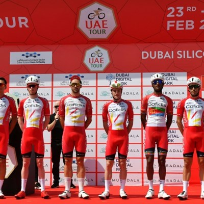 Cyclists held like hostages in UAE - team chief