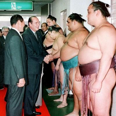Clash of the titans: Trump set for sumo showdown