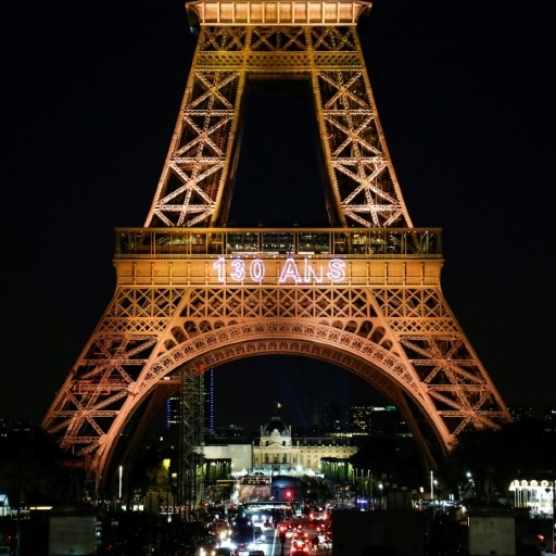 Eiffel Tower celebrates 130th birthday
