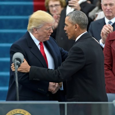 US inaugurations: High drama and sore losers
