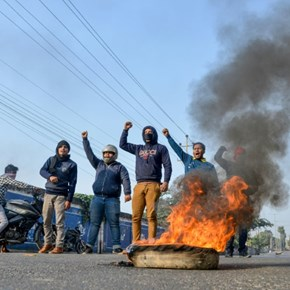 Protests rage in northeast India over citizenship bill