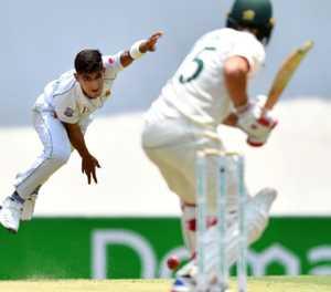 Australia unmoved despite lightning start by Pakistan's Naseem, 16