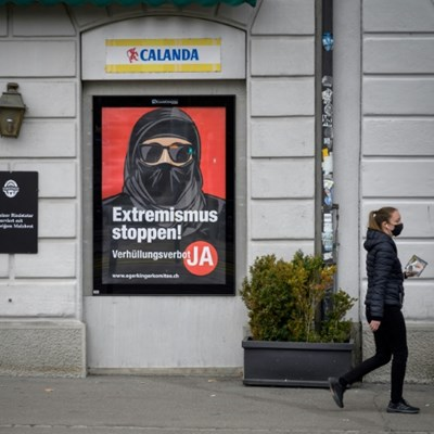 Swiss 'burqa ban' vote on a knife-edge