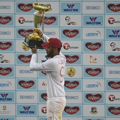 Brathwaite replaces Holder as Windies Test Captain