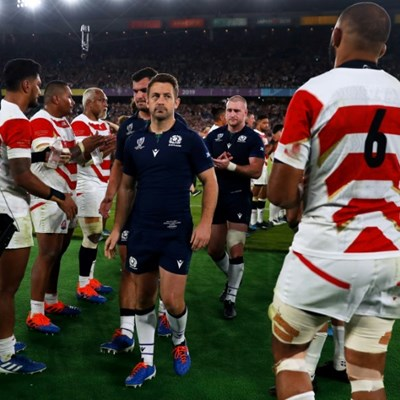 Ex-Scotland captain Laidlaw heads to Japan after 'wonderful' World Cup
