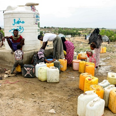 Hand-washing: a luxury millions of Yemenis can't afford
