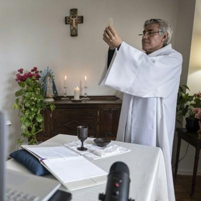 Mourning New York pastor feeds faithful devastated by COVID-19