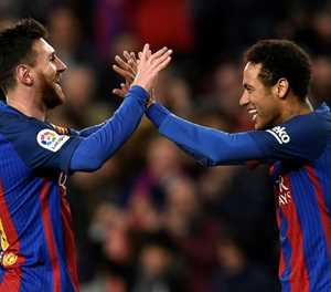 'Next year we have to do it': Neymar keen for Messi reunion