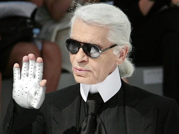 Fashion designer Karl Lagerfeld dead
