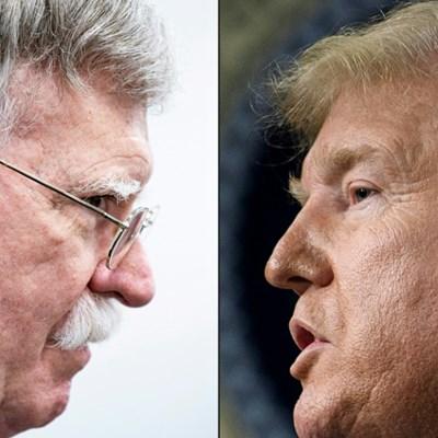 Trump attacks Bolton as impeachment trial heats up