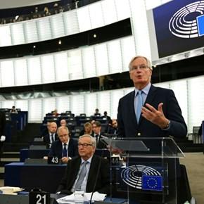 EU's Barnier delivers stark warning on future UK trade deal