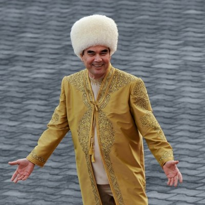 Turkmen leader instructs grandson to compose propaganda songs